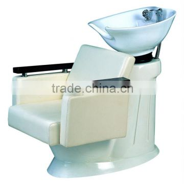 white color shampoo chairs