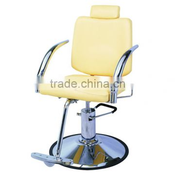 Round Base Modern Hydraulic barber chair hair cutting chairs with pedal wholesale barber supplies F-2228