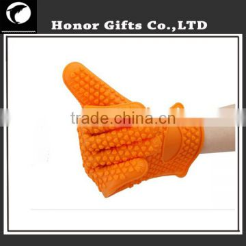 Amazon Hot Selling Kitchen High Quality Silicone Grill Gloves