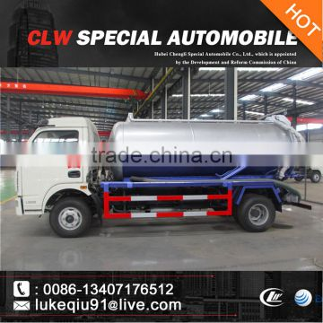 3000-5000L high quality vacuum truck for sales