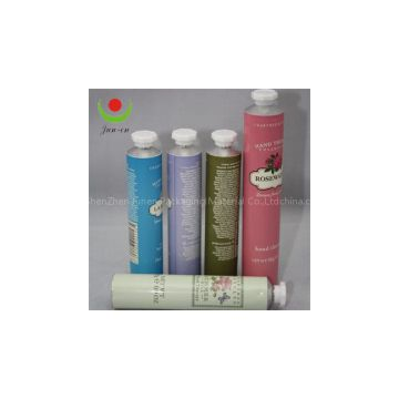 Aluminum Cosmetic Hand Cream Tube