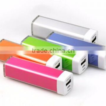 Hot Colorful Power Bank Lipstick ,Mobile Power Supply From Factory