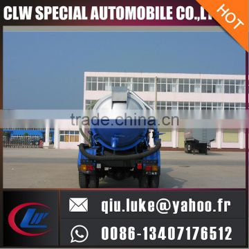 2000-3000 gallons dongfeng vacuum septic tank truck for sales