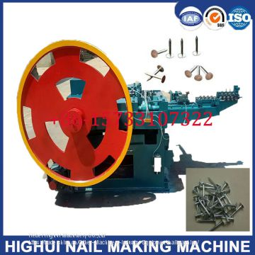 Z94-3c 3 Inch Automatic Iron Nail Making Machine with 45kg/Hourset Production