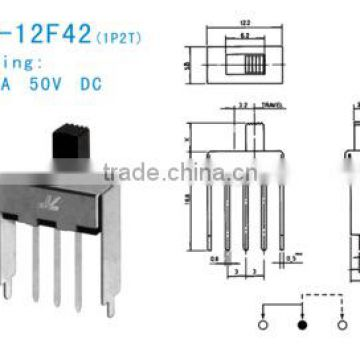 SS-12F42 slide switch