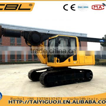 30m good quality 4WD articulated mini wheel loader with backhoe
