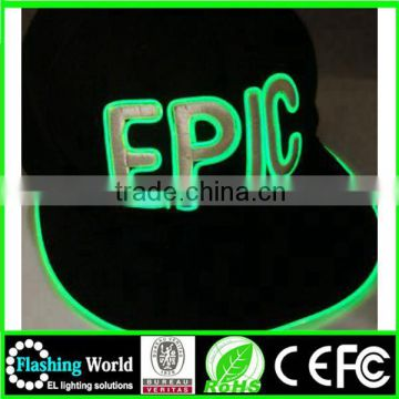 High quality EL Cap with wire,EL Wire cap,Led wire cap