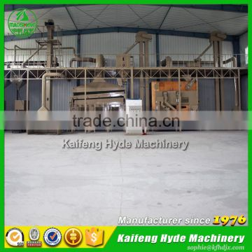 Hyde Machinery 5ZT sorghum seed cleaning plant