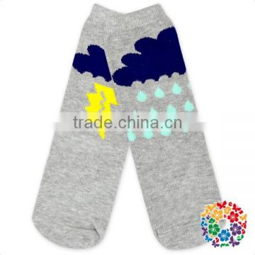 cute infant toddler baby winter warm beer print knitted animal socks