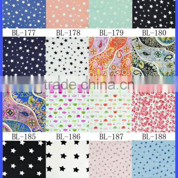 High Quality 100% Cotton Patchwork Fabric Sewing Cloth Quilting Crafts