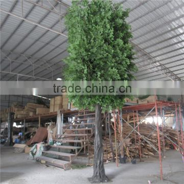 LXY072302 China wholesale plastic artificial ficus tree banyan tree for outdoor
