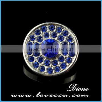 Hot Sale Crystal Beaded Jewelry button interchangeable jewelry
