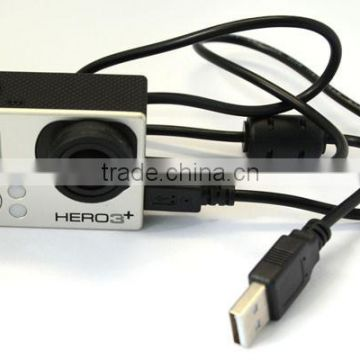 USB Charging Cable for Gopro Hero 3/3+/4