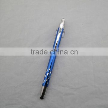 2 in 1 ball pen with stylus tip , promotional touch screen ball pen