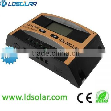 automatic volatge regulator for solar home system using