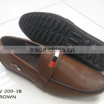men's new fashion casual shoes brush pu shoes LF-W-209-3B                                                                         Quality Choice