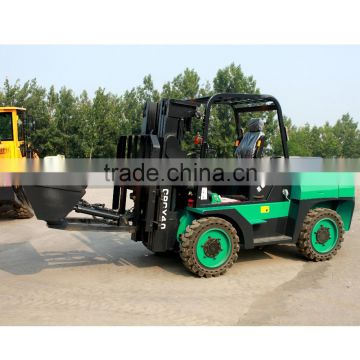 5ton 4WD ce approved fork lift with diesel engine