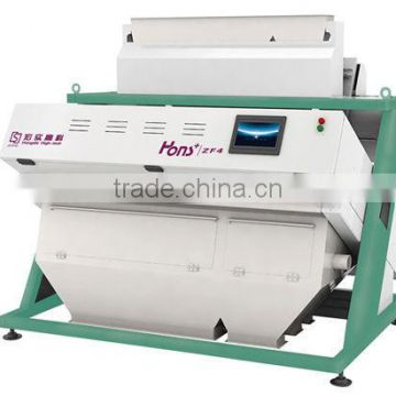 High Luminance LED resource CCD Hons+ Cashew color sorter machinery