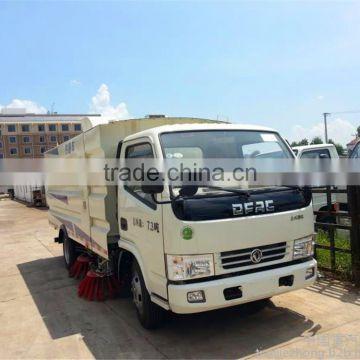 hot sale dongfeng 4*2 road clean sweeper truck