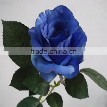artificial silk flower single Paris rose bud