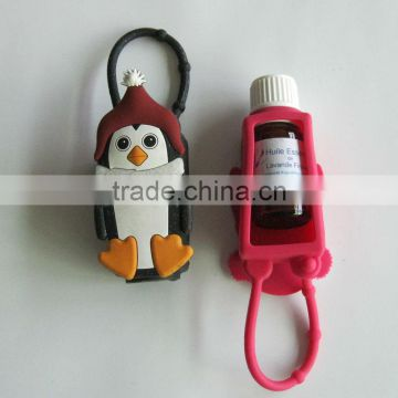 3D effected silicone scent-bottle case