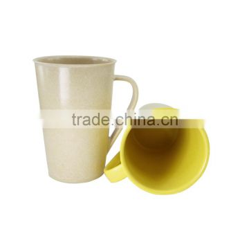 Long-lasting Ecological OEM available bamboo fiber water cup coffee cup