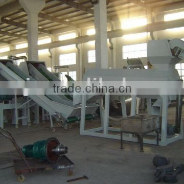 Cheap PET bottle flakes washing recycling machine line