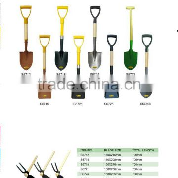 S6718 mini shovel with fiberglass handle