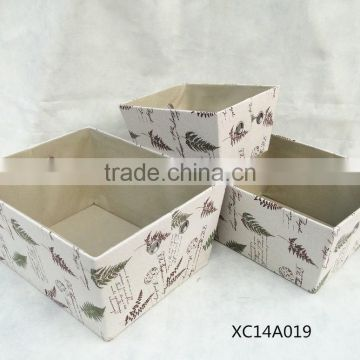 fashion cheap paper storage basket