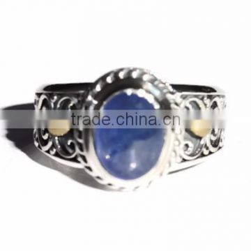 925 sterling silver gemstone opal ring