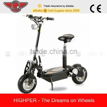 "1000W Adult Electric Scooter with 12"" Wheel(HP107E-B)"