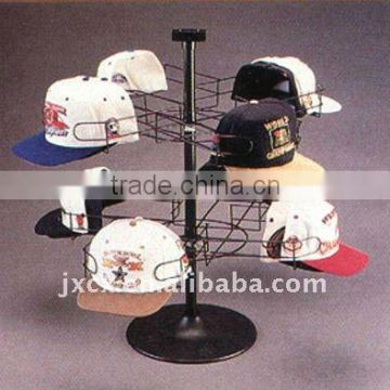 Counter top revolving hat rack-8 styles