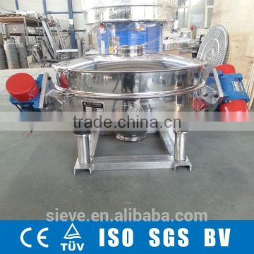 double motors vibrating screen for powder particle