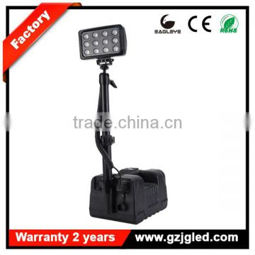 Mobile lighting system portable led camping lantern high flux led RALS-9936 heavy duty rechargeable searchlight