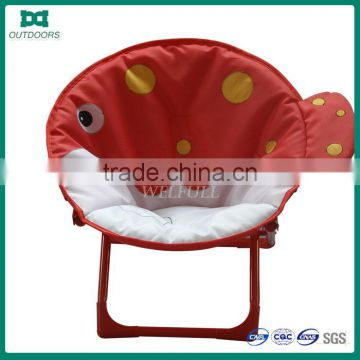 Camping Round Outdoor Folding Moon Kids Chair