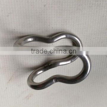 Stainless Steel Hook with S type made in China from yuyao factory