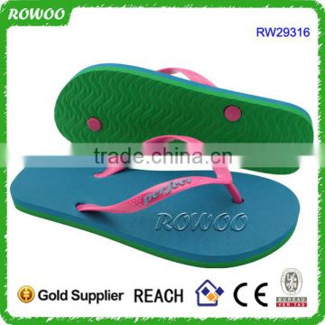 Cheap Colorful Ladies PVC EVA flip flop slipper