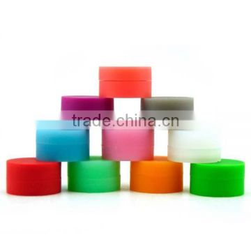 Customize Round Non Stick FDA Approved Silicone Wax And Oil Container
