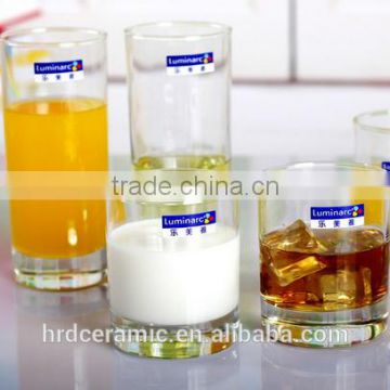 Hot Sale 310ml Transparent long drink glasses/water glass/drinking glass