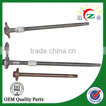 tricycle rear axle and transmission shaft