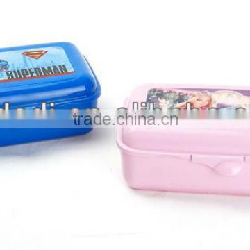 2016 Hot selling lunch box plastic for kid with best price