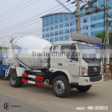 130 hp 4*2 Forland 5m3 Concrete mixing Truck