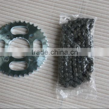 Best Selling Motorcycle Chain and Sprocket Set