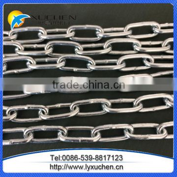 Din763 galvanized steel link chain china factory link chain