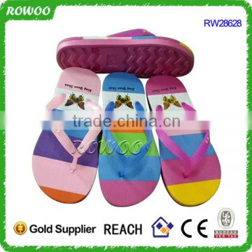 Fashion cheap flip flop sandalias china natural and recycled flip flops