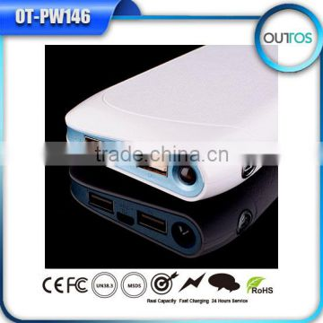 Newest portable high capacity universal mobile power bank 17600 mah