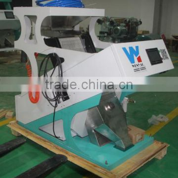 1 chute CCD Electronic hulled oats flake color sorter machine