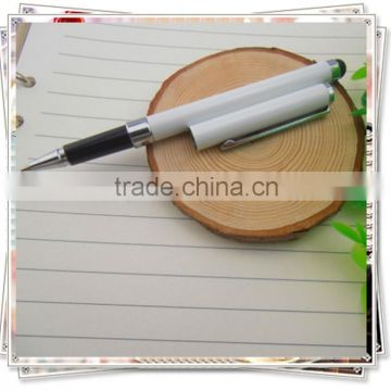 TM- 61 2015 Fashionable White touch pen for Ipad , Elegant design promotional metal pen