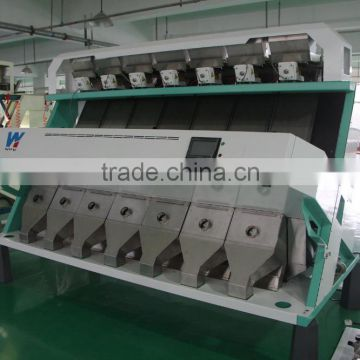Equipped Best 7 chutes uron ccd camera color sorter