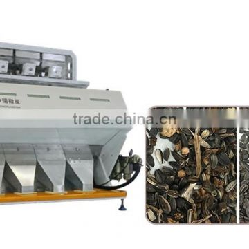 Optical CCD Camera Sunflower Color Sorting Maching / Sunflower Color Sorter With High Sorting Accuracy